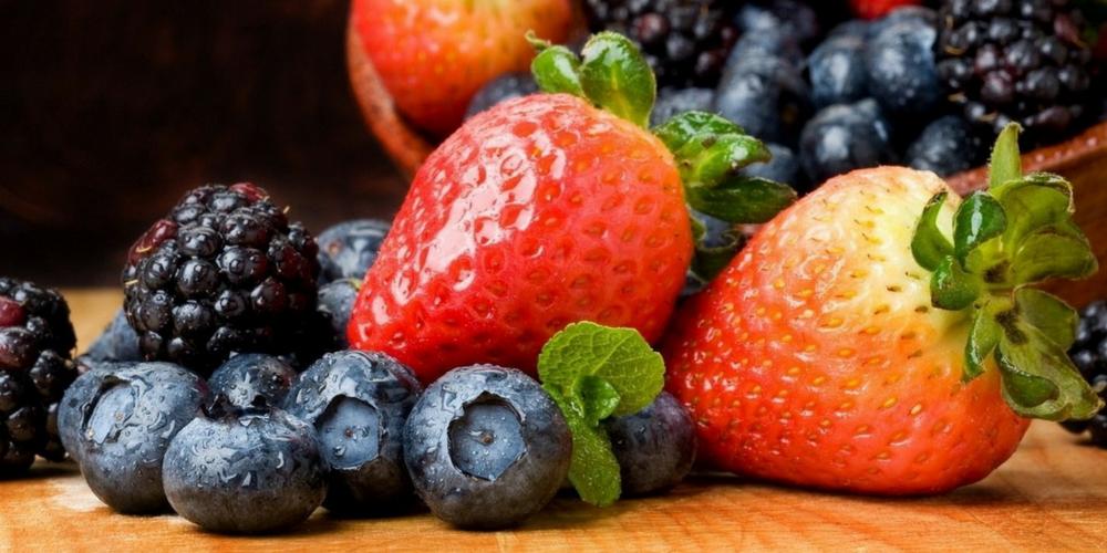 ягоды антиоксиданты
