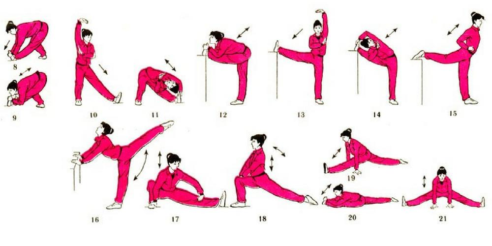 утренняя гимнастика комплекс упражнений для ног
