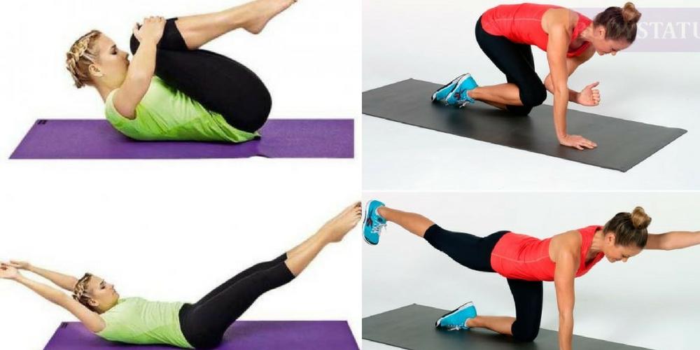 утренняя гимнастика комплекс упражнений для спины, поясницы, ног, всего тела,
