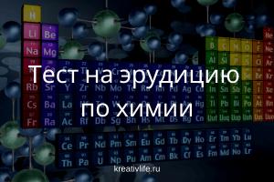 Тест по химии: насколько хорошо вы знаете таблицу Менделеева