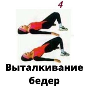 Упражнения для красивых ягодиц