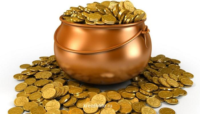 Деньги - монеты, финансовый успех