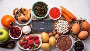 красивые продукты с высоким содержанием йода
