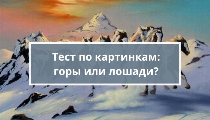 Психологический тест по картинкам «Мечтатель или прагматик?»