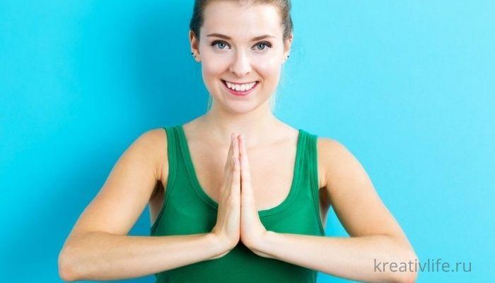 Подготовка к йоге для лица
