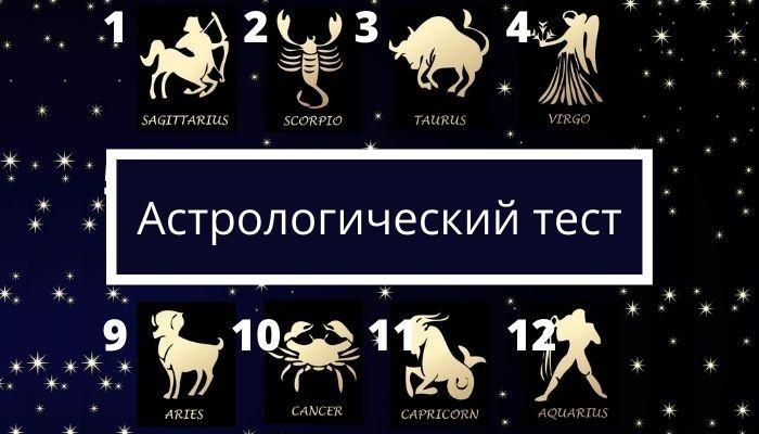 Астрологический тест онлайн: узнай свои сильные стороны