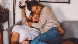Красивая пара мужчина и женщина