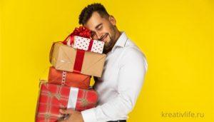 Основные правила выбора подарка для парня и мужчины