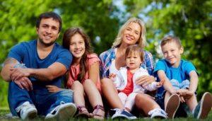 Родители и дети. Сводная семья