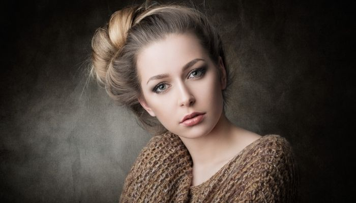 Красивая женщина эмоции