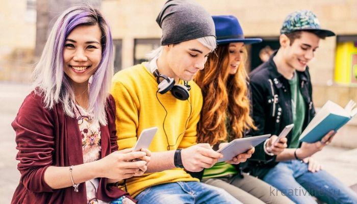 Подростки и гаджеты