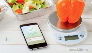 Дета, похудение, подсчет калорий
