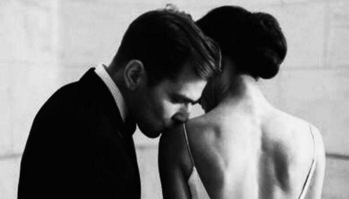 Красивая пара. Отношения женщина и мужчина