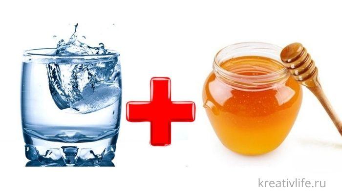 Вода плюс мед полезные свойство