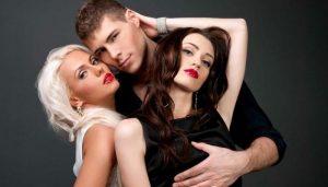 Любовный треугольник мужчина, жена и любовница