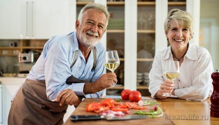 Полезное питание для долгожителей