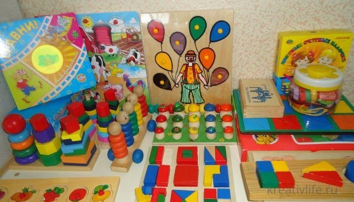 Развивающие игры и игрушки для детей