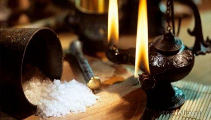 Генеральная чистка пространства с солью