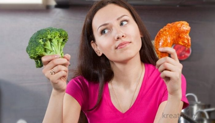 Мясо или овощи. Правильное питание и диета.
