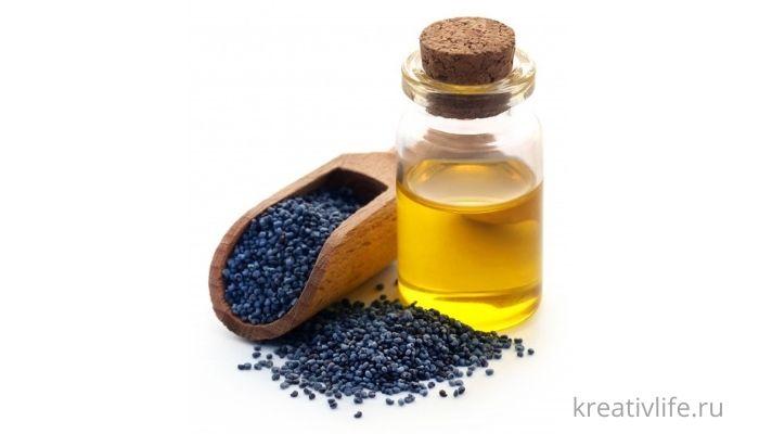 Маковое масло свойства и применение