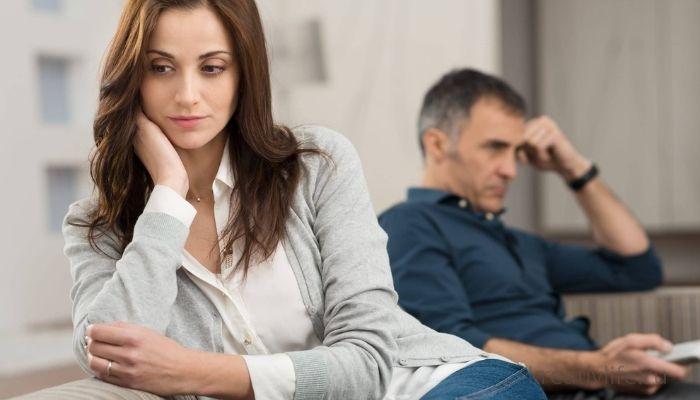 Мужчина и женщина плохие отношения молчат