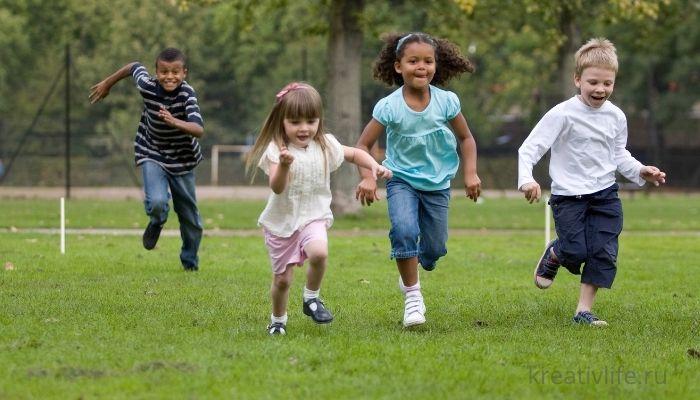 Активные игры для детей летом на улице