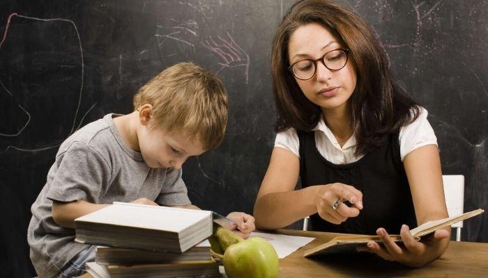 Обучение репетитора ребенком