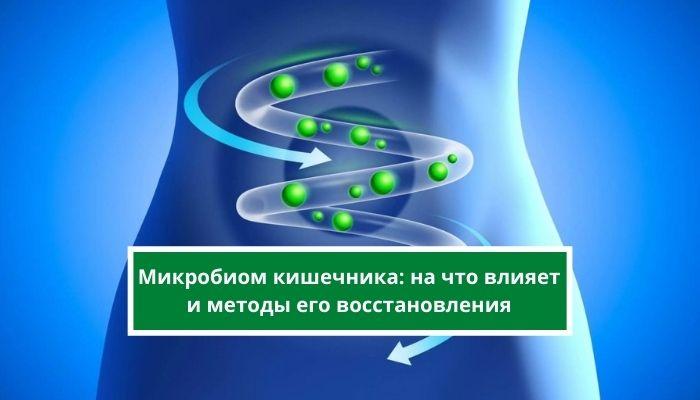 Микробиом кишечника: на что влияет и методы его восстановления